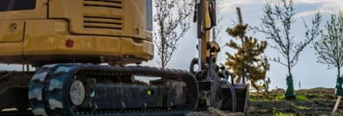 Conduzione di escavatori e terne