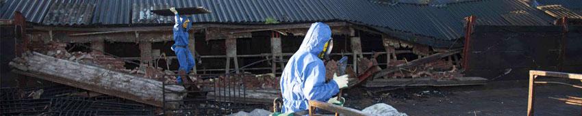 Addetto alle attività di Rimozione, Smaltimento, Bonifica dell'amianto